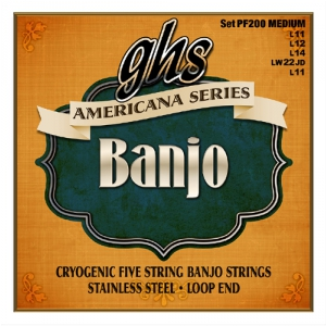 GHS Americana - struny do banjo, Medium