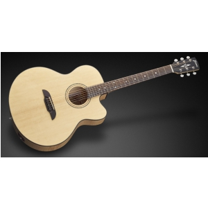 Framus FJ 14 SMV - Vintage Transparent Satin Natural Tinted + EQ gitara elektroakustyczna