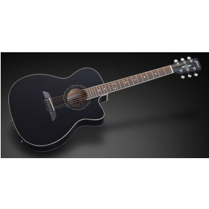 Framus FF 14 S - Solid Black High Polish + EQ gitara elektroakustyczna