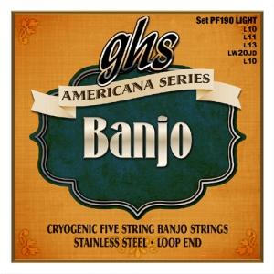 GHS Americana ″ struny do banjo, Light