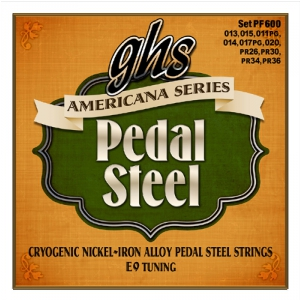 GHS Americana Series  struny do Pedal Steel Guitar, 10-Strings, C6 Tuning, .012-.036