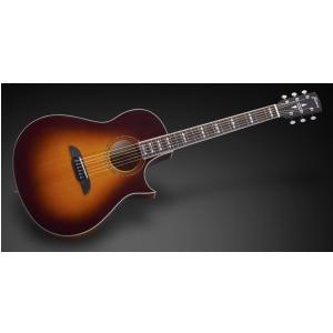 Framus FC 44 SMV - Vintage Dark Sunburst Transparent High Polish gitara akustyczna