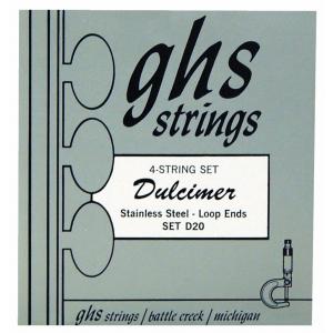 GHS Dulcimer String Set, C-Ionian Tuning, Loop End
