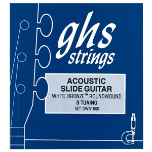 GHS Professional - Resonator String Set, White Bronze, .016-.056