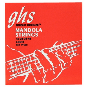 GHS Professional - Mandola String Set, Loop End, Bright  (...)