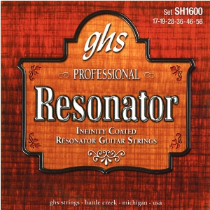 GHS Professional - Resonator String Set, Infinity Bronze,  (...)