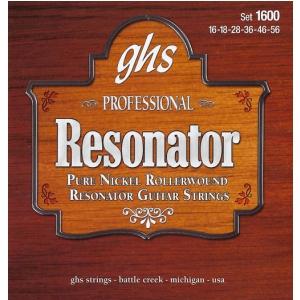 GHS Professional - Resonator String String Set, Nickel,  (...)