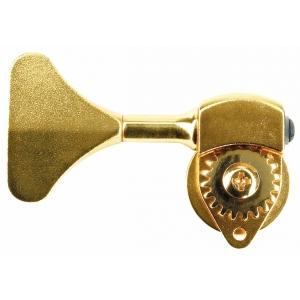 Hipshot HB6 - Ultralite Bass Machine Heads, 1/2 in. Post, Y Key, Treble Side  złoty klucz gitarowy