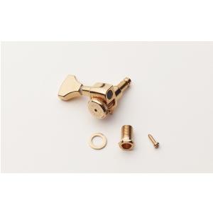 Hipshot Grip-Lock Open Gear Guitar Tuning Machines - Treble Side (Right)  złoty klucz gitarowy
