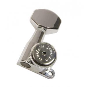 Hipshot Grip-Lock Closed Guitar Tuning Machine - Treble Side (Right)  chromowany klucz gitarowy