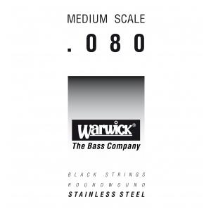 Warwick 39080 Black Label.080, Medium Scale, struna pojedyncza do gitary basowej