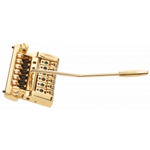 Kahler 2215 - Stud Mount Guitar Tremolo, Brass Cam, Steel Saddles - złoty mostek do gitary