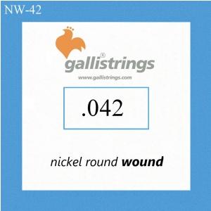 Galli NW042 - pojedyncza struna do gitary elektrycznej