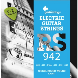 Galli RS942 - struny do gitary elektrycznej +GRATIS