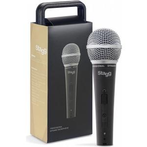 Stagg SDM 50 mikrofon dynamiczny z wyłącznikiem
