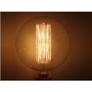 Edison Selred G125 60W E27 - żarówka węglowa retro - Old  (...)