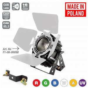Flash Pro LED PAR 64 300W 6w1 COB RGBWA UV Short +  (...)