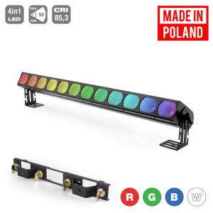 Flash Pro LED Washer 12x30W RGBW 4w1 COB 12 sekcji SHORT  (...)