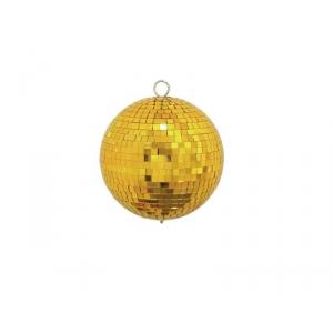 Eurolite złota kula lustrzana 15cm