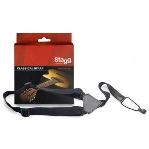 Stagg SNCL001-BK regulowany pasek do gitary/uke
