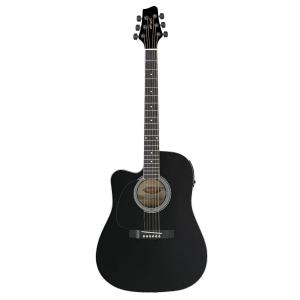 Stagg SW203 CUTU LH BK gitara elektroakustyczna, leworęczna