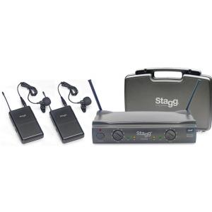 Stagg SUW 50 LL FH EU bezprzewodowy system UHF, podwójny  (...)