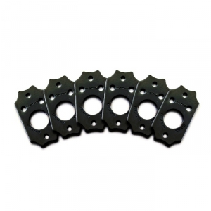 Graphtech Ratio InvisoMatc PRT-952-13 - płytki do mocowania kluczy, Gibson Style Screw Hole - Black