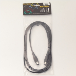 RockCable kabel MIDI - 2 m (6.6 ft) - Black