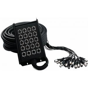 RockCable kabel wieloparowy  + Stage Box - 16 x Send / 4 x  (...)
