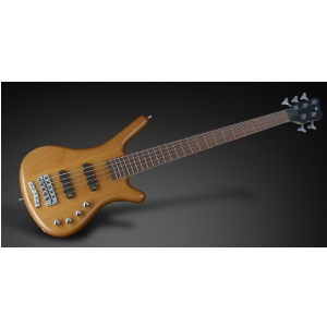 RockBass Corvette Basic 5-str. Honey Violin Transparent Satin, Fretted gitara basowa