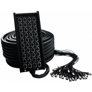 RockCable kabel wieloparowy  + Stage Box - 32 x Send / 4 x  (...)