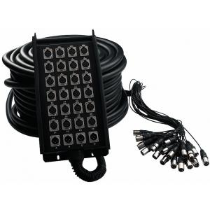 RockCable kabel wieloparowy  + Stage Box - 24 x Send / 4 x  (...)