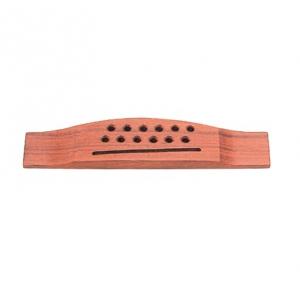 Grover Pin-Less Guitar Bridge, Classical Guitars, Rosewood / Plastci Saddle (12 string) mostek