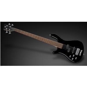 RockBass Streamer LX 4-String, Black Solid High Polish, Active, Fretted, Lefthand gitara basowa