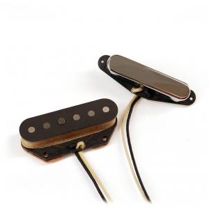 Nordstrand NVT Single Coil, Vintage Style Tele Neck Alnico V Pickup - Chrome przetwornik do gitary