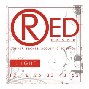 Cleartone RED Copper Bronze struny do gitary akustycznej 12-53