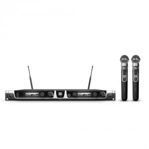 LD Systems U505 HHD2 mikrofon bezprzewodowy podójny,  (...)