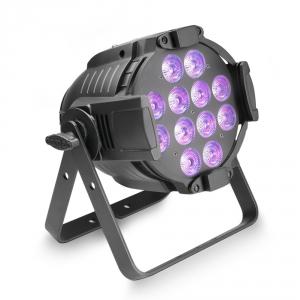 Cameo Studio PAR 64 CAN RGBWA+UV 12W-12x12W LED RGBWA+UV PAR w czarnej obudowie