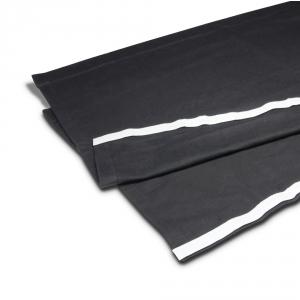 Adam Hall Accessories 0153 X 206 - Molton sceniczny B1 z taśmą na rzepy, 2 x 0,6 m