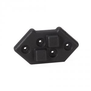 Adam Hall Hardware 4939 - Plastikowa nóżka do układania w stos do montażu krawędziowego