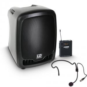 LD Systems Roadboy 65 HS przenośna kolumna aktywna na baterie z bezprzewodowym mikrofonem nagłownym