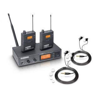 LD Systems MEI 1000 G2 BUNDLE podwójny system  (...)