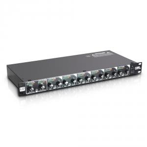 LD Systems MS 828 rozdzielacz / mikser sygnału, rack 19″,  (...)
