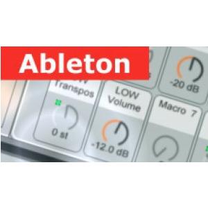 Musoneo Moduły perkusyjne w Ableton Live - kurs video PL, wersja elektroniczna