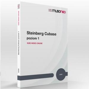 Musoneo Steinberg Cubase Poziom 1 - kurs video PL, wersja  (...)