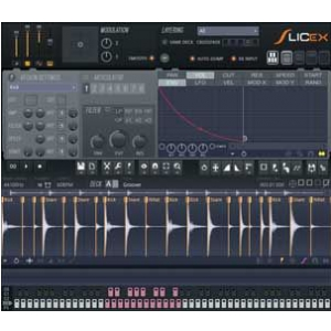 Image Line Slicex (FL Studio/VST) instrument wirtualny, wersja elektroniczna