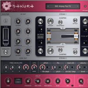 Image Line Sakura (FL Studio/VST) instrument wirtualny, wersja elektroniczna