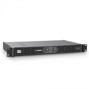 LD Systems XS 200 końcówka mocy PA klasy D, 2 X 100 W, 4Ohm