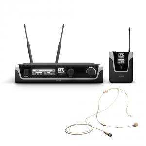 LD Systems U518 BPHH mikrofon bezprzewodowy nagłowny, kolor beżowy