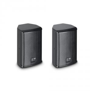 LD Systems SAT 42 G2 pasywny głośnik instalacyjny 4, czarny, para